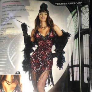 Flapper sequin dress by Dreamgirls halloween